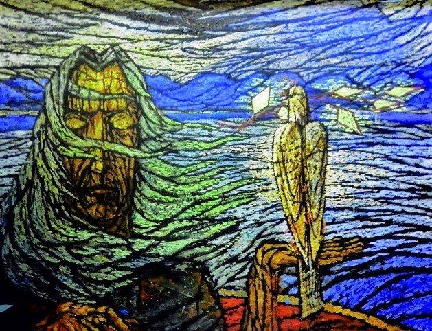Выставка Руслана Магалимова «Сцена вкартине»