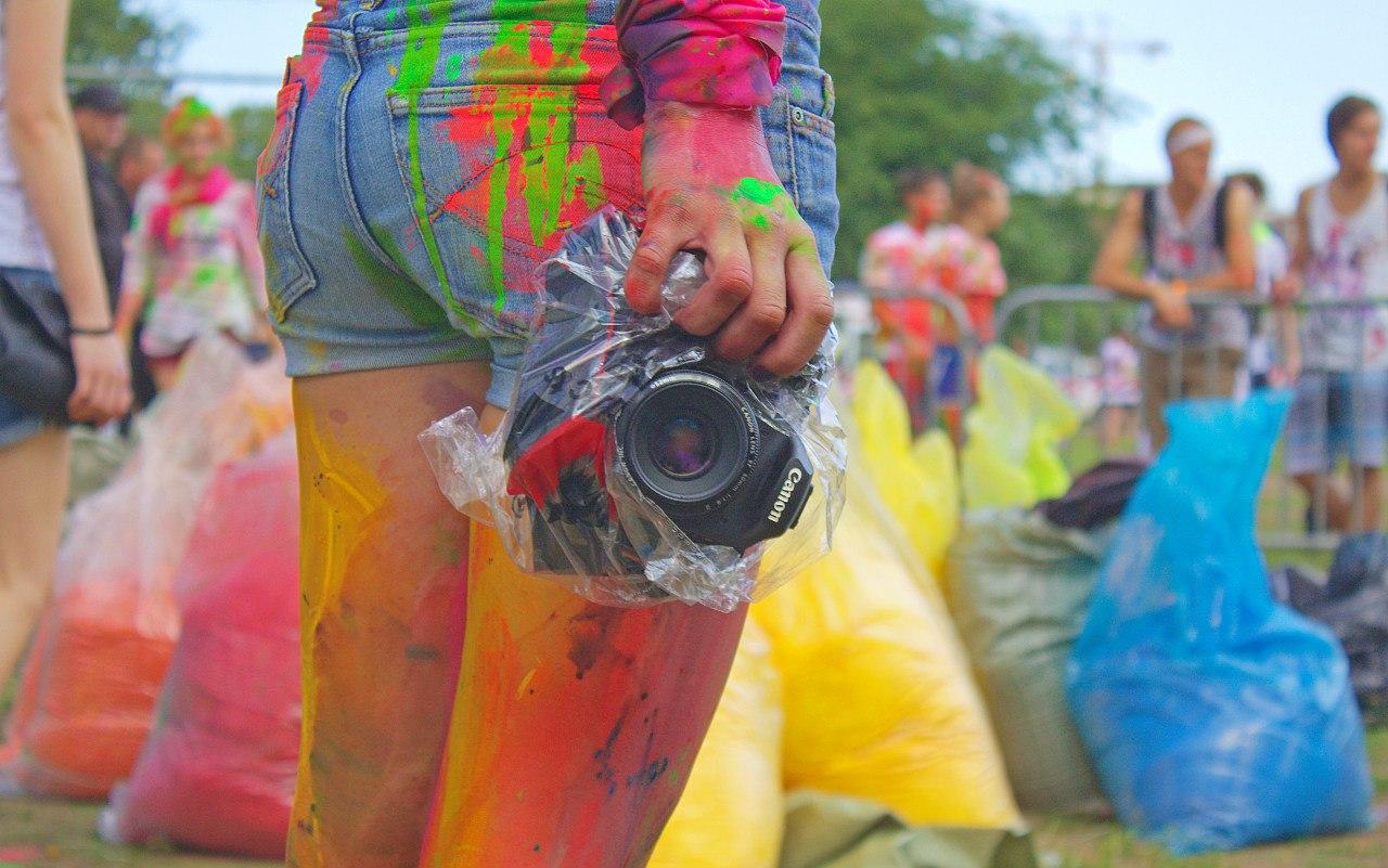 Фестиваль красок / колесо обозрения «Седьмое небо»