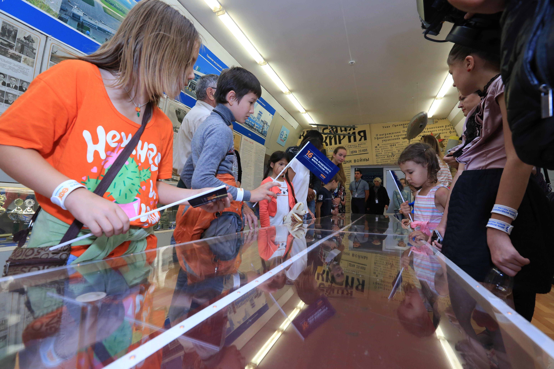 Экскурсия для детей вАэропорту «Уфа»