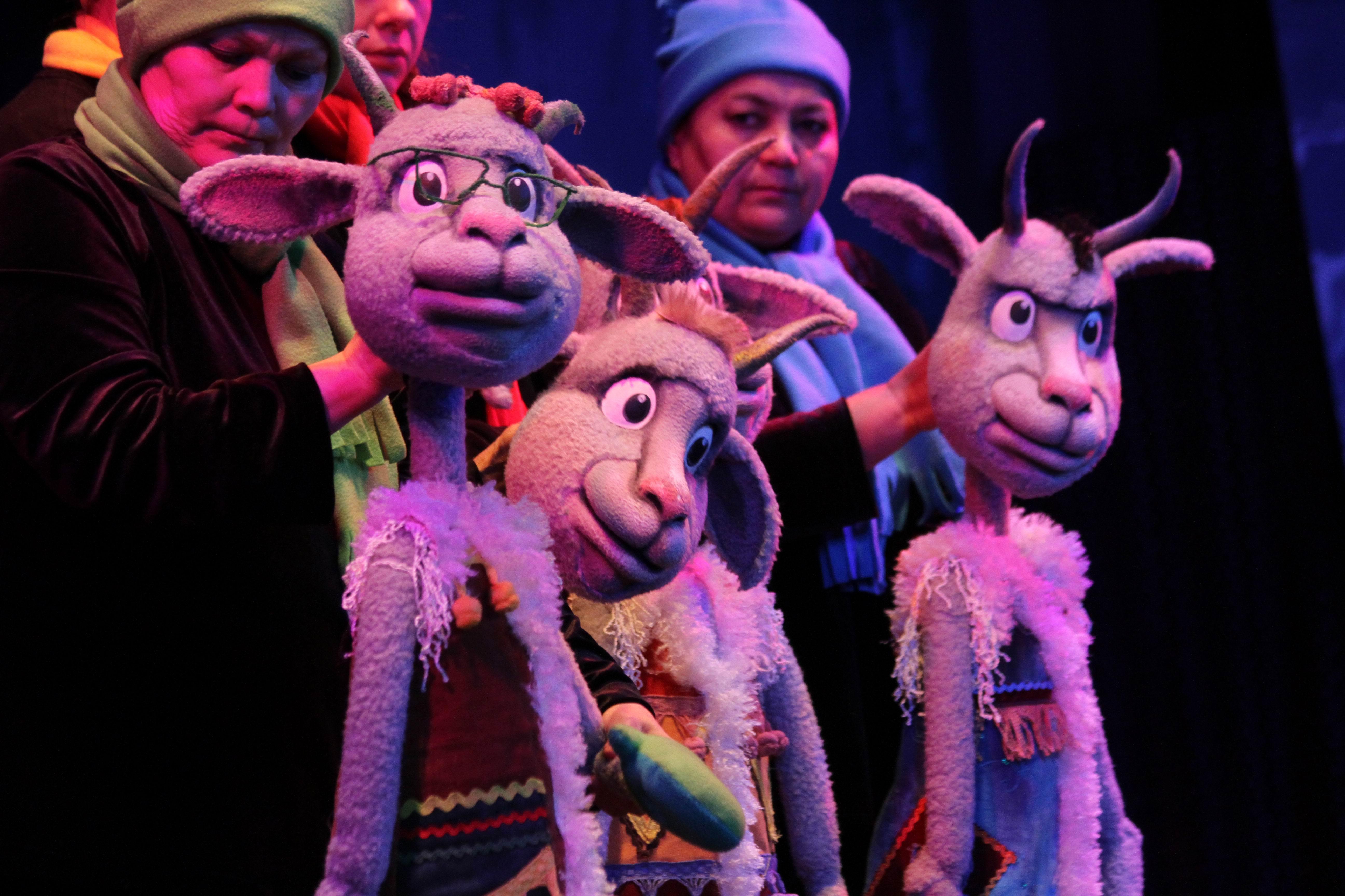 Спектакли вУфимском театре кукол вноябре