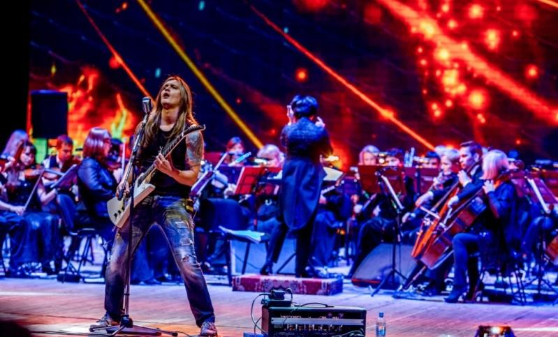 Metallica Show S&M Tribute ссимфоническим оркестром