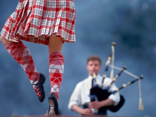 Отрытый урок Шотландских танцев