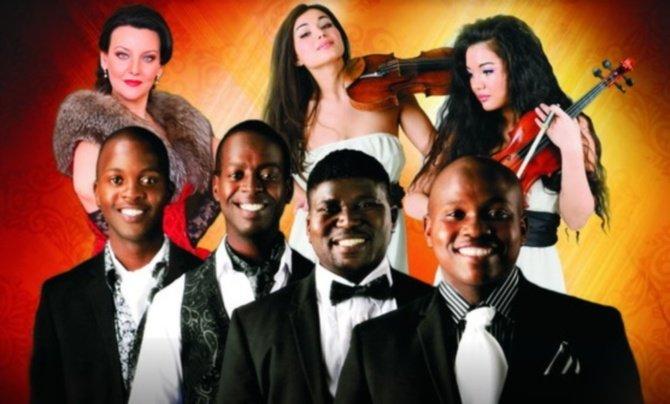 Музыкальное шоу «Афро-тенора»