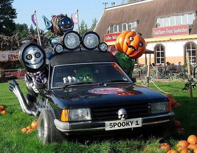 Праздник «Автохэллоуин»