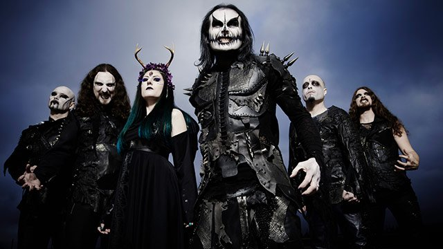 Концерт «CRADLE OF FILTH»