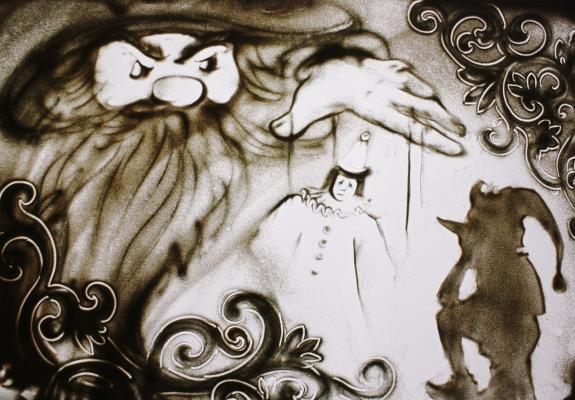 Sand art— шоу «Песочная фантазия»