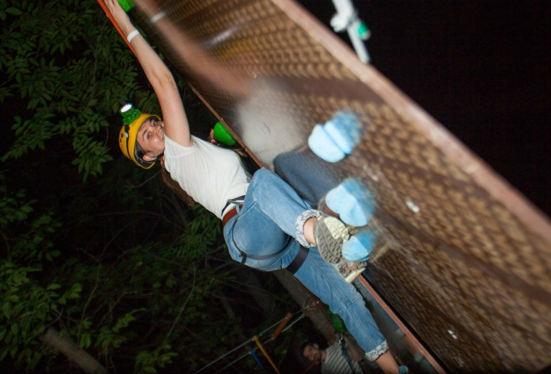 «Ночное приключение» вверевочном парке «Гамми»