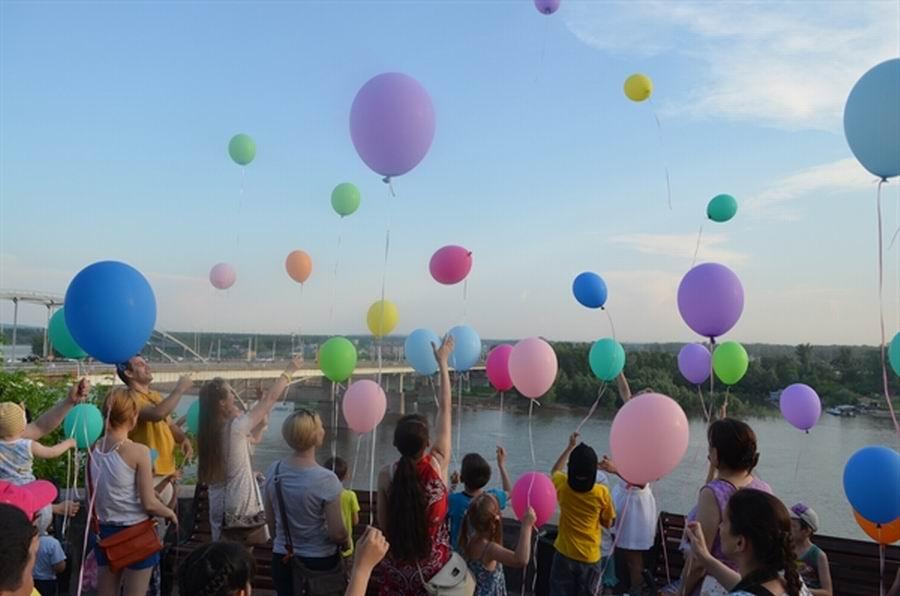 Детский праздник «Уфа– город детей, город семей»