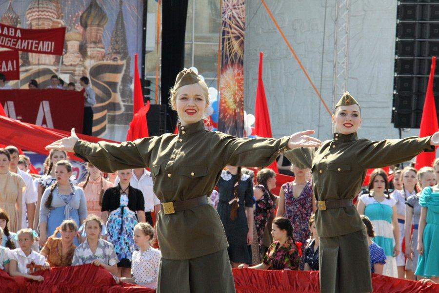 Праздник посвященный 71-й годовщине Победы вВОВ