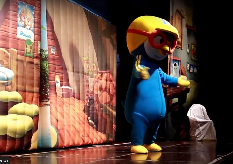 Спектакль ростовых кукол «Пингвиненок Пороро идрузья»