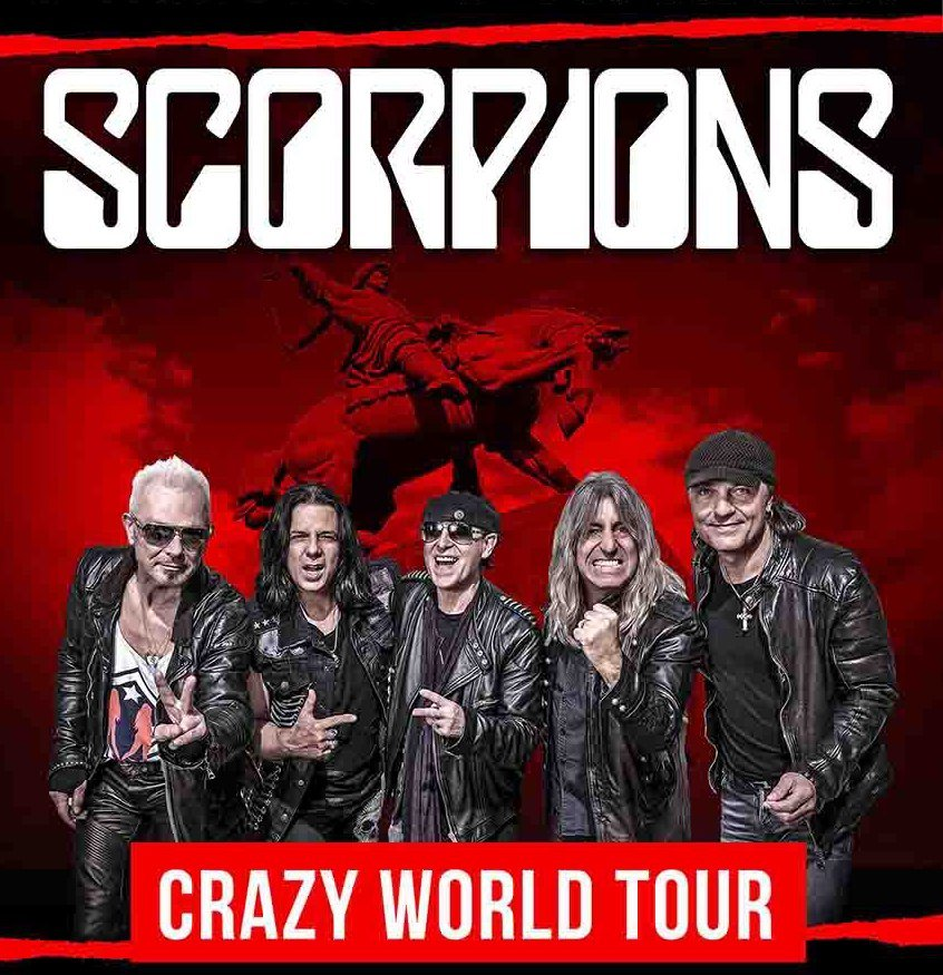 Концерт группы «Scorpions» — «Crazy World Tour»