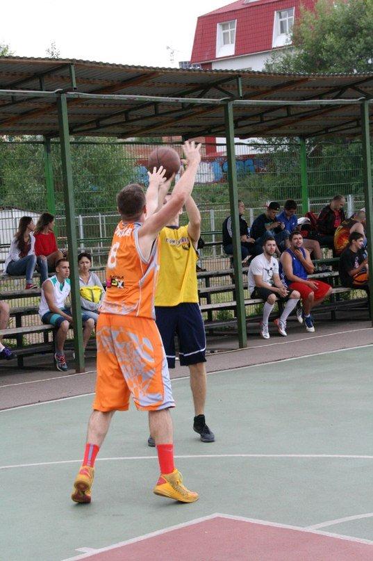 Уличный баскетбол «Лига 33»