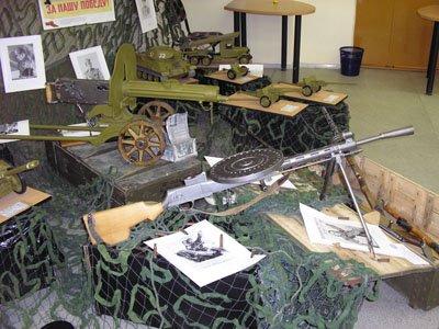 Выставка макетов «В мире боевой техники»