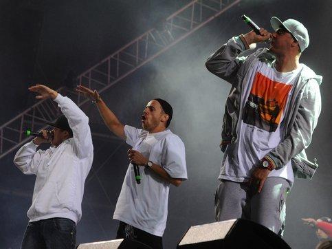 Концерт хип-хоп группы «Каста»