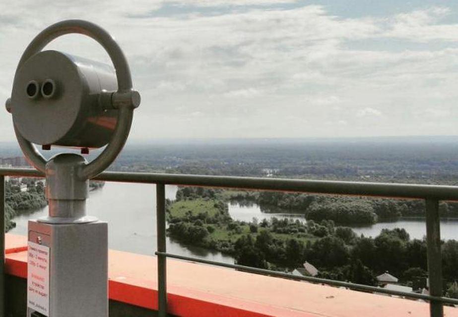 Смотровая площадка накрыше ТРЦ «Планета»
