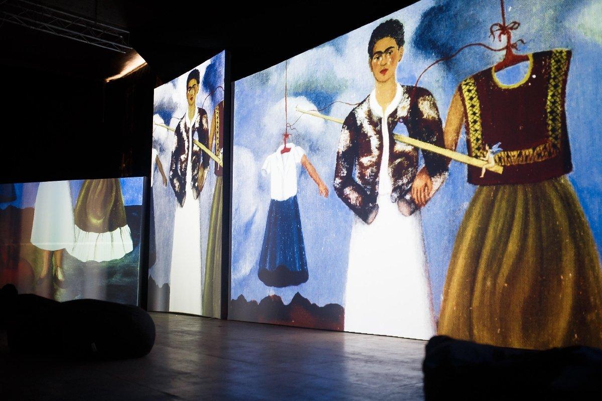 Мультимедийная выставка «Фрида Кало— Ожившие полотна».