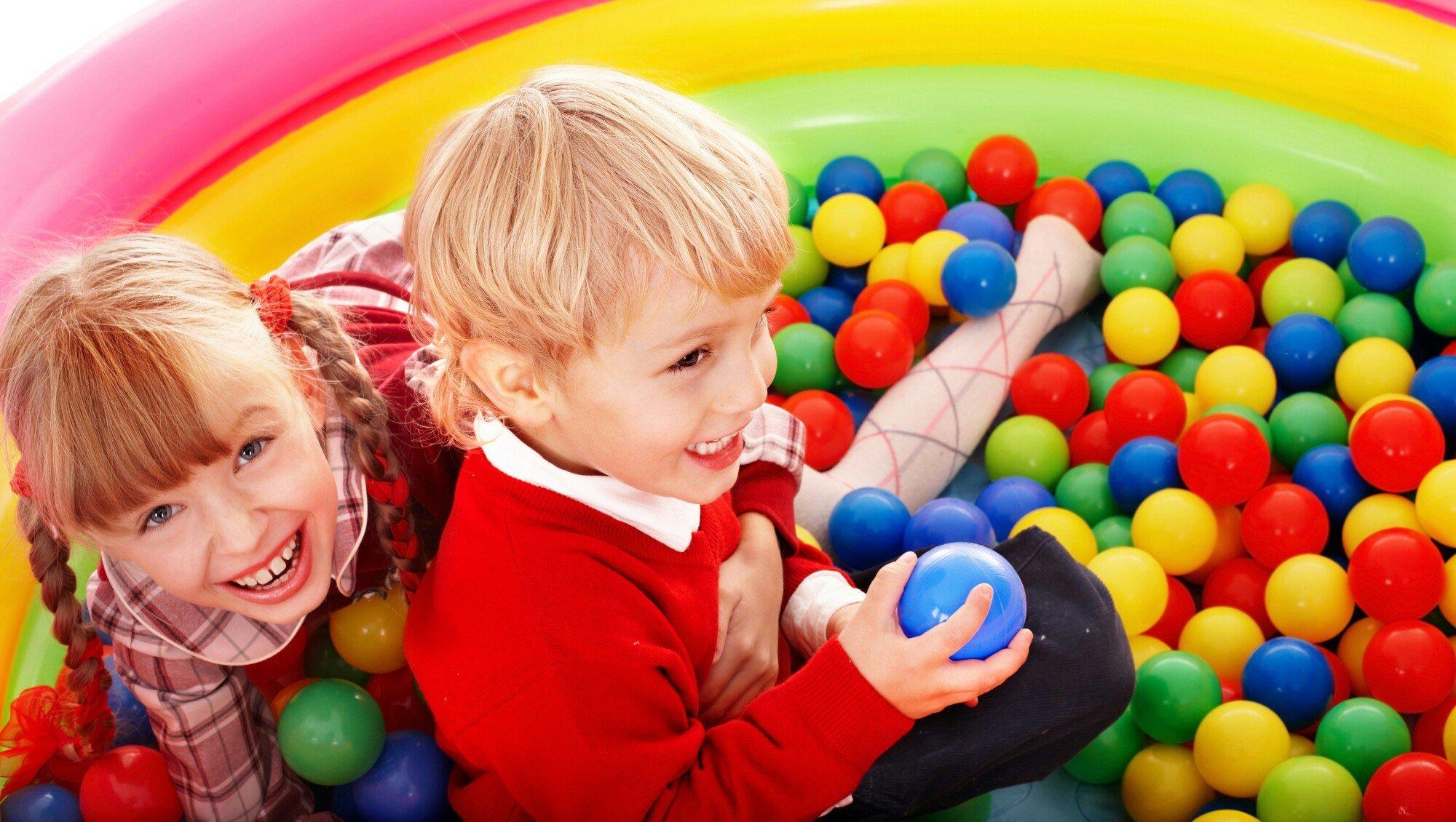Фото детей в шариках